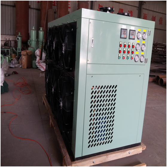 400v Low Power Cryogenic Air Separation Plant , Skid Mounted Liquid Nitrogen Plant