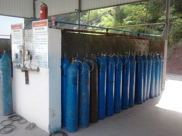 Liquid Air Gas Separation Plant ,  Skid-mounted Oxygen Plant Filling Cylinder Decive